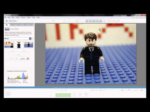 How to cropping pictures using Picasa