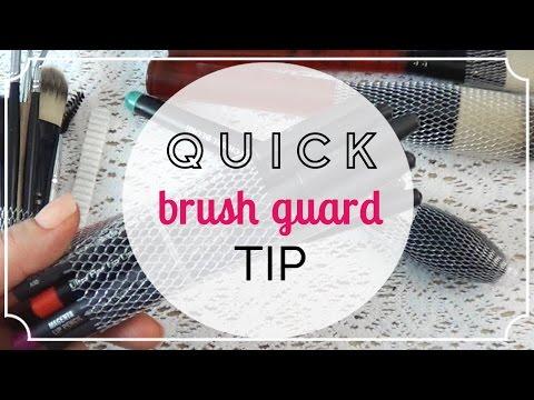 Organization Tip Using The Brush Guard ;)