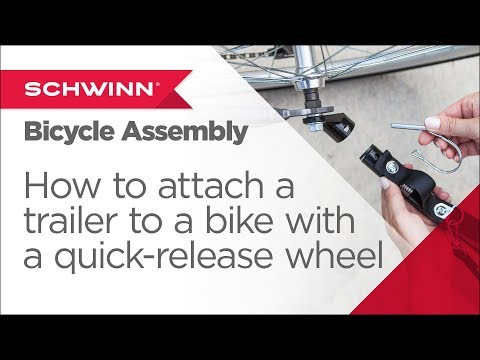 How to Attach a Schwinn/Instep Trailer to My Bicycle with a QR Wheel