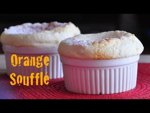 Orange Soufflé | Fluffy French Dessert |Recipes 'R' Simple