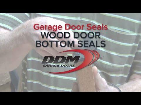 Garage Door Seals - Wood Door Bottom Seals