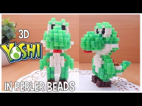 3D Perler Beads Tutorial YOSHI (Nintendo)