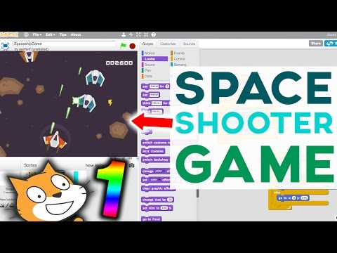 Scratch Tutorial: Awesome Space Shooter Game! [Part 1]