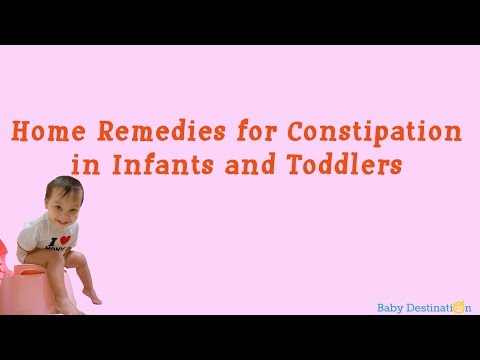 Home Remedies for Constipation in Infants and Toddlers