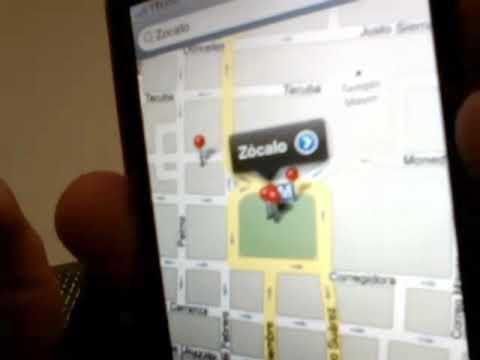 Cómo usar Google Street View en iPhone o iPod Touch?