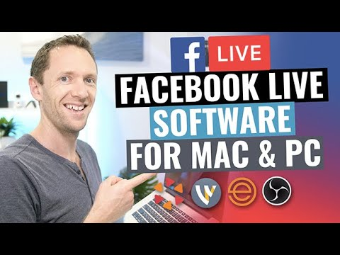 Best Facebook Live Stream Software for Mac and PC? Late 2017 Review!