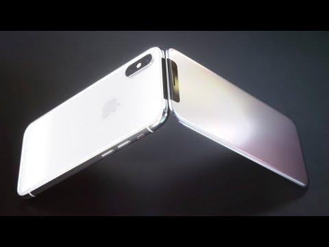 The iPhone X Flip Phone