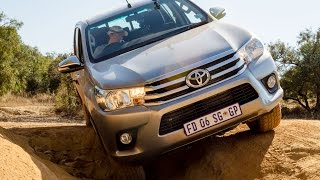 2016 Toyota Hilux Offroad Review At Hennops 4x4 Course