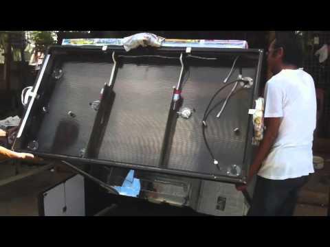 folding food cart