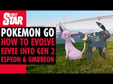 Pokemon GO - How to evolve Eevee into Umbreon and Espeon