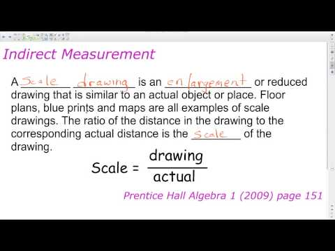 Unit 3 Lesson 2 Similar Triangles - Proportional Reasoning | Algebra 1