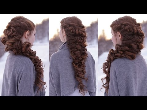 Messy Romantic Braid