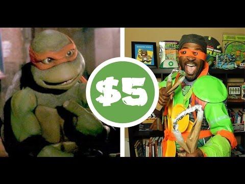 TMNT Michelangelo   $5 Cosplay Challenge
