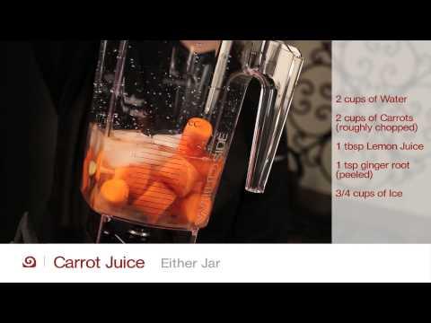 Carrot Juice - Blendtec Recipes