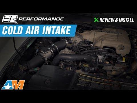 1994-1995 Mustang (5.0L Cobra) SR Performance Cold Air Intake Review & Install