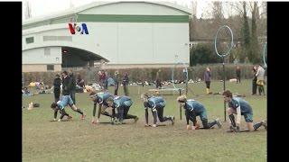 Turnamen Piala Quidditch Inggris - VOA Sports