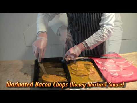 Murphys Honey Mustard Bacon Chops