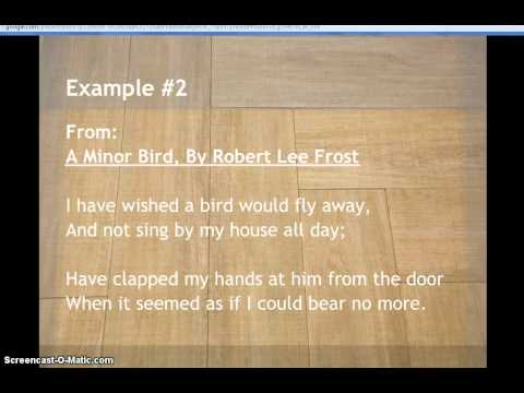 Examples of Couplet in Poetry