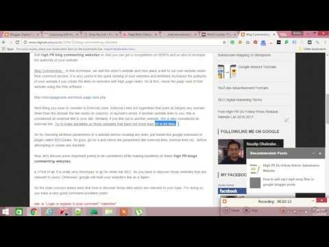 How to get Backlinks via High PR Blog Commenting Sites