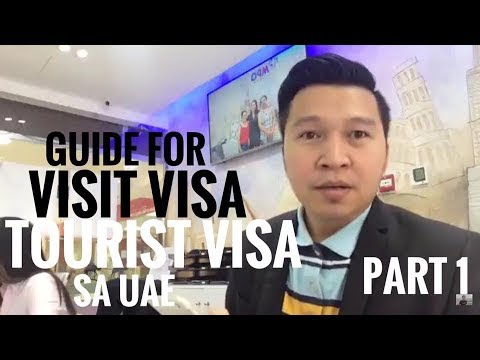 VISIT VISA  OR TOURIST VISA TO UAE part 1 (via FB Live)