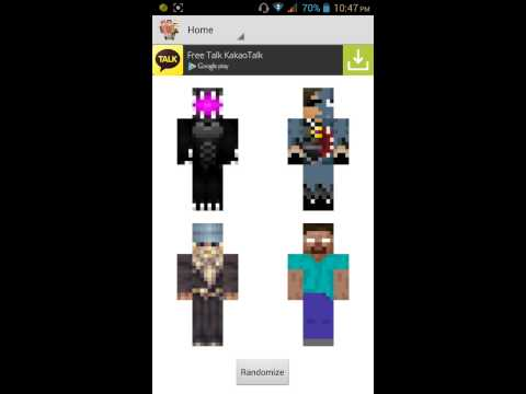 How to Change Skin in Mcpe (with Blocklauncher)