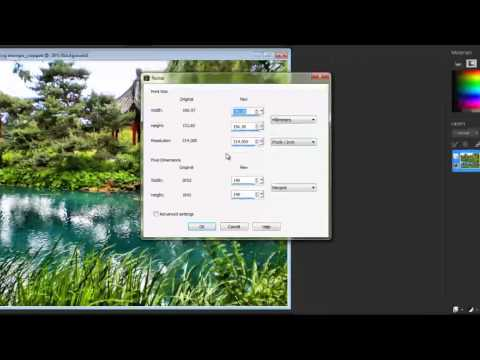 Cropping and Resizing Images in Corel PaintShop Pro X6