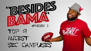 Besides Bama | Best SEC Campuses | Comedian FunnyMaine: Episode 2