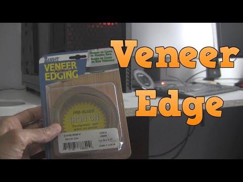 Putting Veneer Edge On My Melamine Desk