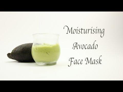 Moisturising Avocado Face Mask