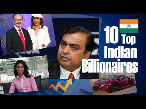 10 Top Indian Billionaires