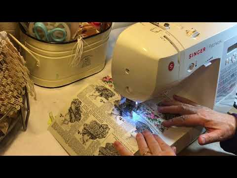 Anatomy of a Vintage Book Junk Journal - Part 4 - Signature Centers