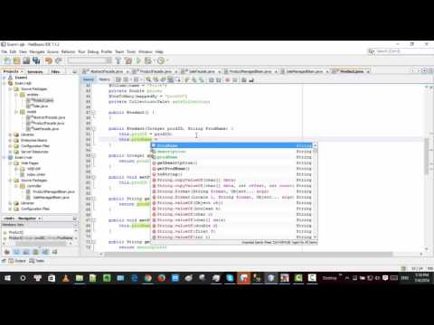 Show 2 tables in netbeans using JSF, EJB3 and JPA