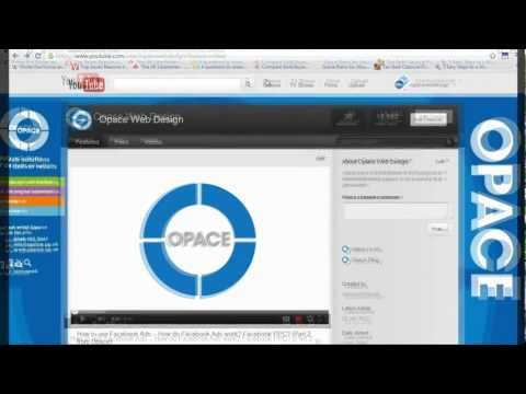 How To Link Your Facebook, Twitter & Youtube accounts Together - Opace Social Media Tutorials
