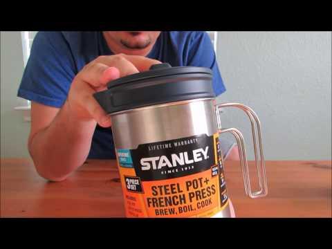 Stanley Stan 32oz Coffee Press Cook + Brew Kit