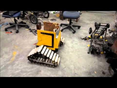 The Robot 'WALL-E' By BRAC University (Bangladesh)