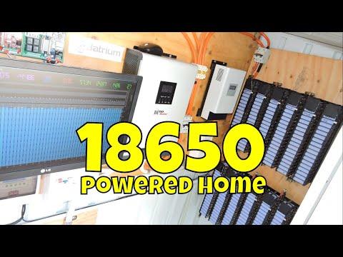 18650 DIY Powerwall Built from used laptop batteries ⚡