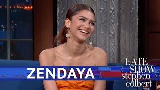Download Zendaya Lifts the Curtain On Her Spidey Stunts Video