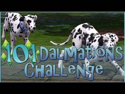 Sims 3    101 Dalmatians Challenge: Meeting Perdita! - Episode #2