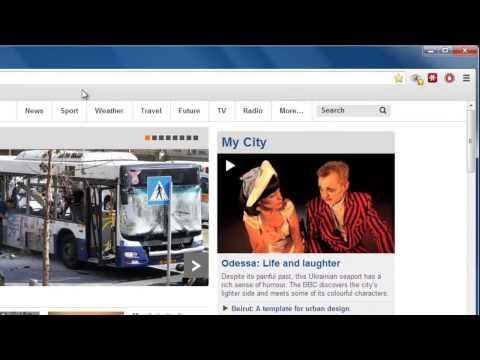 How to set a Homepage on Chrome