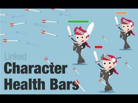 Gamesalad Linked Character Health Bars