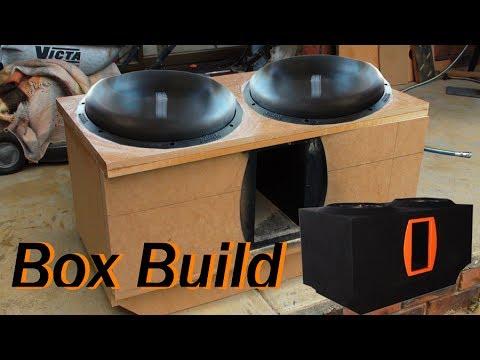 Box Build/Install 2 Sundown Audio ZV412's For 2013 Mitsubishi Outlander