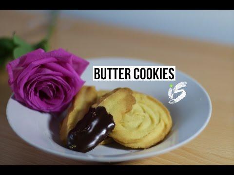 Butter Cookies | Recipe