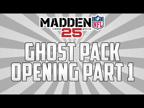 Madden 25 Ultimate Team | Ghost Pack Opening #1 | MUT 25 Ghost Pack