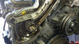 How to check Nissan navara D22 timing chain strech