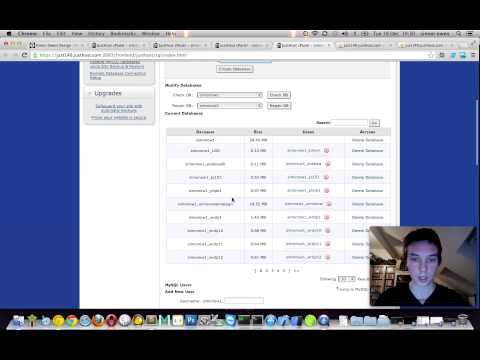 Custom databases, cpanel, WordPress setup
