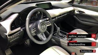 2019 Mazda3 Interior & Infotainment – Redline: First Look – 2018 LA Auto Show