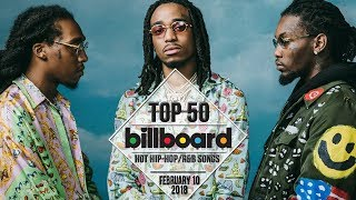 Top 50 • US Hip-Hop/R&B Songs • February 10, 2018 | Billboard-Charts