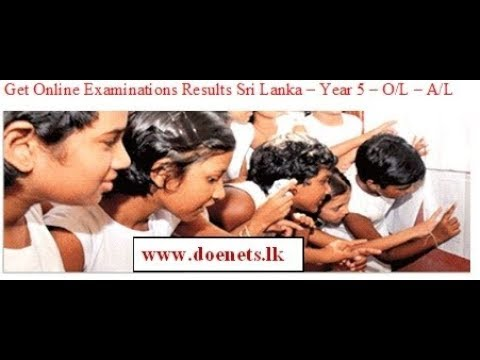 O/L Exam Results Release March 28 to www.doenets.lk website විභාග ප්රතිඵල