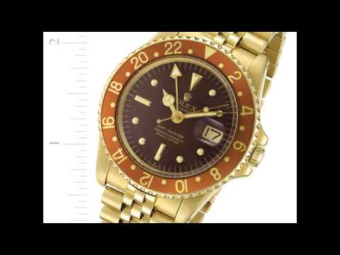 Rolex GMT-Master 18k gold #1675 Buy, Sell, Consign