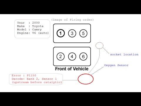 DIY: Replacing Oxygen Upstream Sensor on Toyota Camry V6